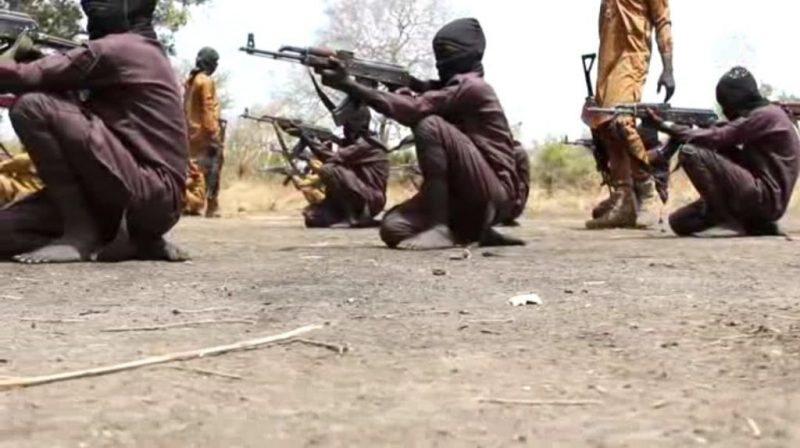 Boko Haram Releases Video Of Children Undergoing Combat Training In A Camp