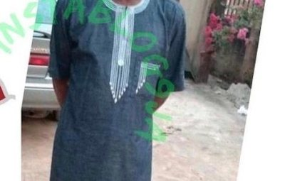 WAHALA!!! See The Shocking Thing A Marlian SS2 Student Did To His Principal That Got Him Arrested In Osun (Photo)