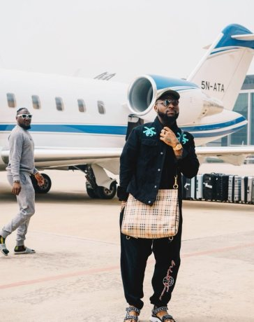 we had no money davido reveals as he returns to old house