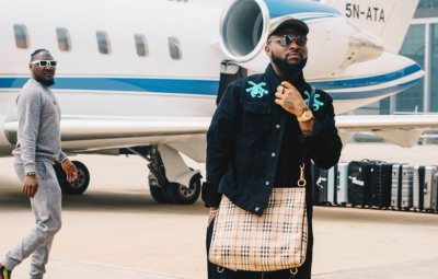 Davido Makes History, Flies From Atlanta To Los Angeles To Have lunch