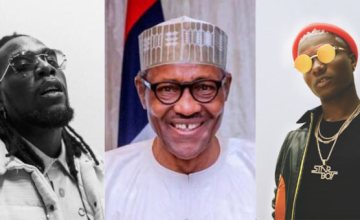 President Buhari Sends Delayed Congratulatory Messages To Burna Boy and Wizkid After Grammy Win