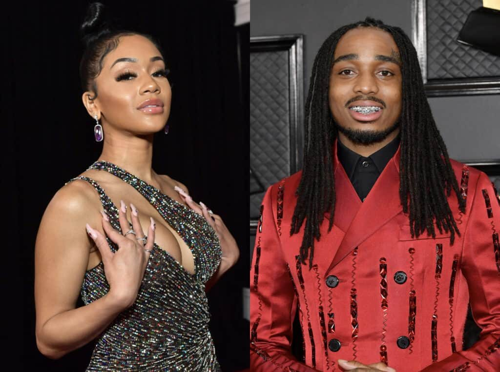 VIDEO: Quavo and Ex-Girlfriend, Saweetie Fight Dirty After Breakup