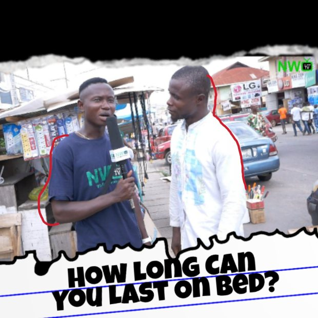 NaijawideTV Vox Pop: How Long Can You Last On Bed? (Watch Funny Responses)