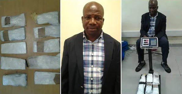 NDLEA Arrests Top Nigerian Politician With Cocaine At Lagos Airport