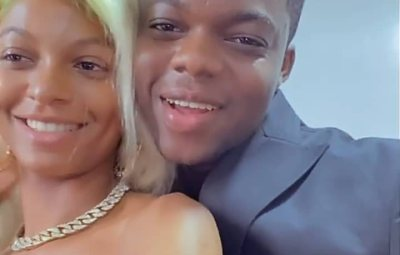 """""""Congratulations to you, BRO"""" – Adeherself congratulates Comedian 'Cute Abiola as he secretly ties the knot with Original lover"""