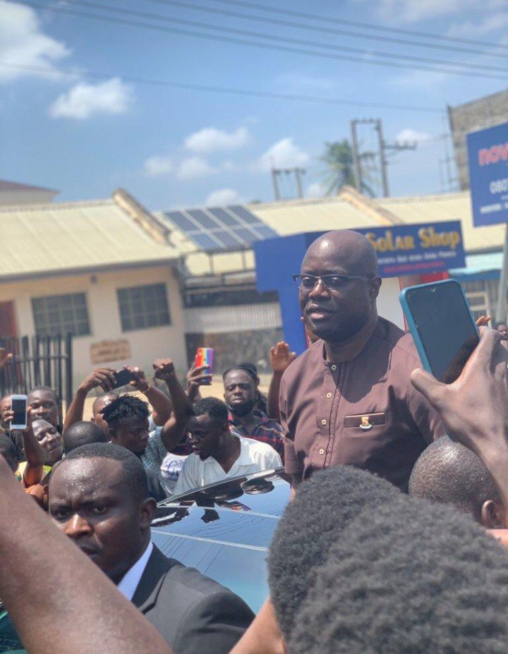 BREAKING: Governor Seyi Makinde Joins June 12 Protesters In Ibadan (See Photos)