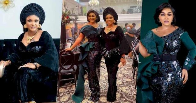 Mercy Aigbe and Iyabo Ojo Appears to Have Settled Long Time Rift in New Photos