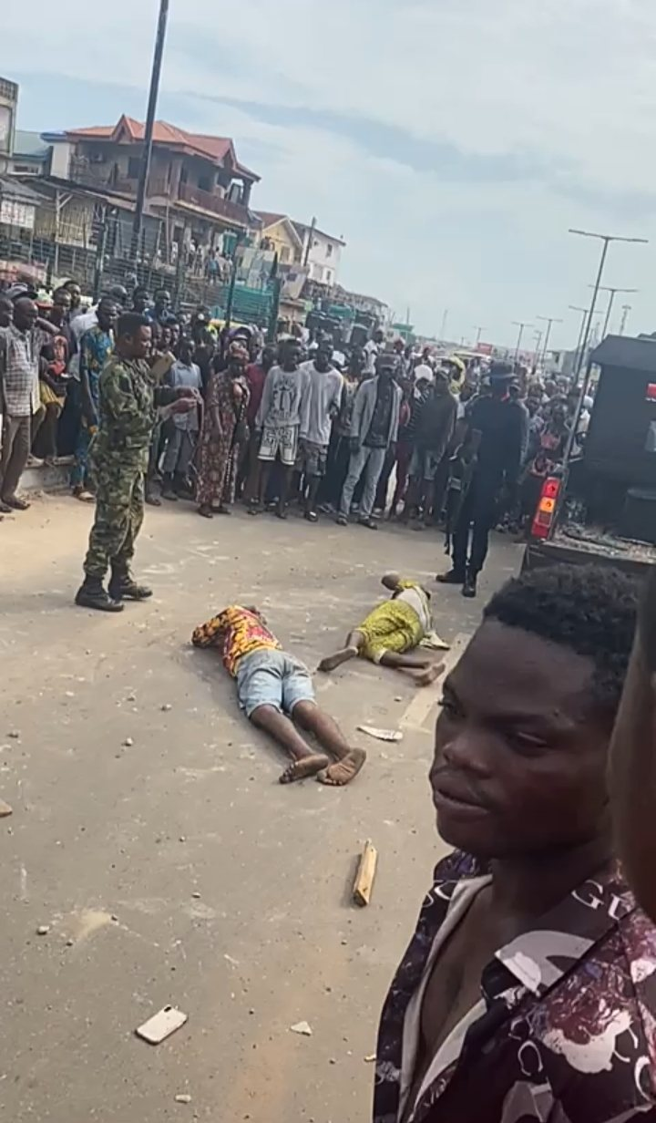 Auxilliary Fingered As PMS Boys Attack Shop Owners, Two Dead, Many Injured, Shops Looted In Ibadan (See Video)