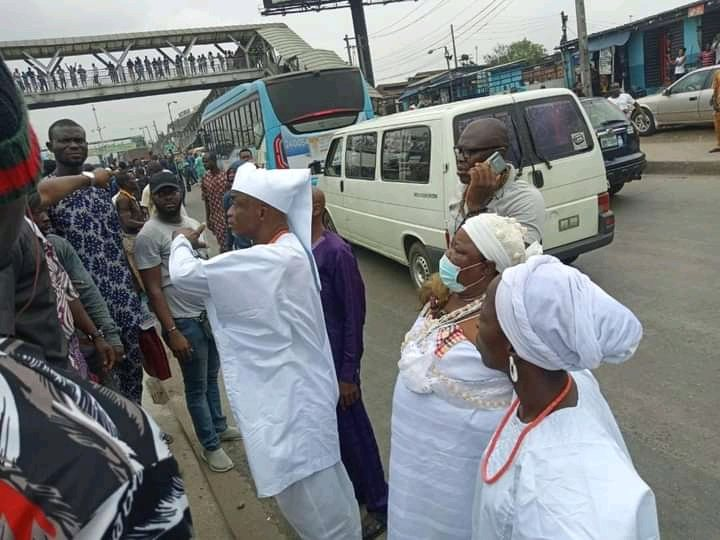 """IN CASE YOU MISSED IT!!! Photos From The """"Yoruba Nation"""" Rally In Lagos"""