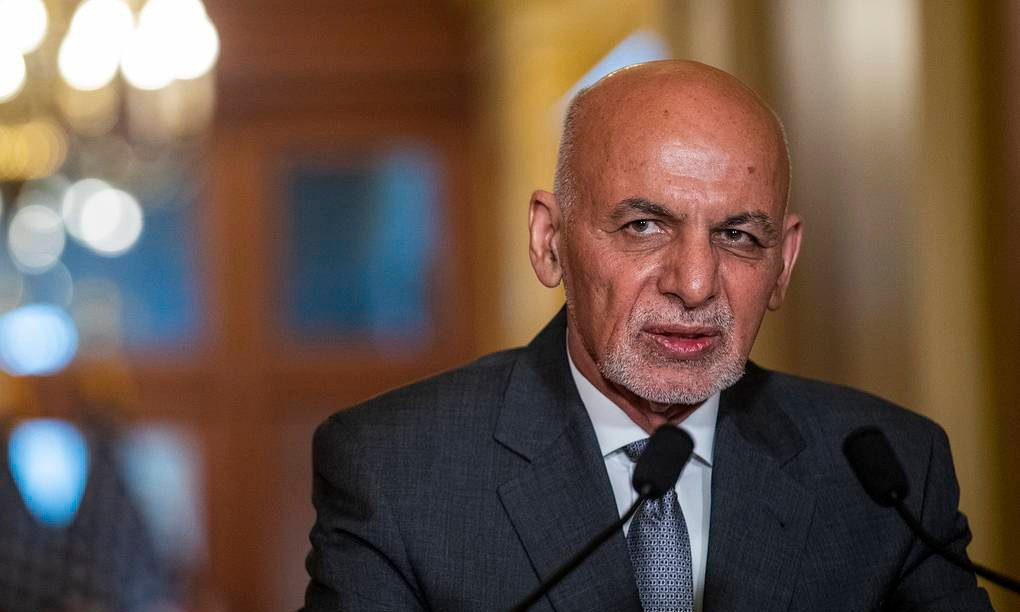 President Ghani Fled Afghanistan With 4 Vehicles, Helicopter Full Of U.S. Dollar
