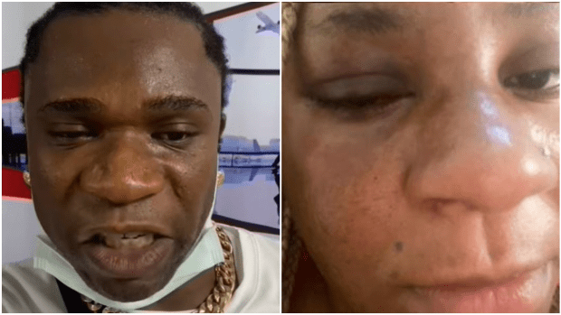 ' Speed Darlington Lied, I Don't Have Issues With My Husband'- Sister