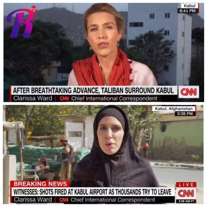 See What CNN Reporter Did After Taliban Take Kabul (Photo)