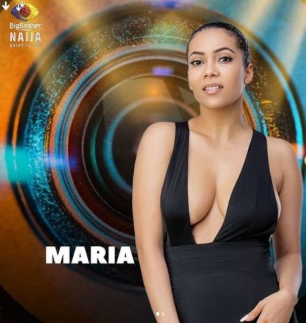 Maria Evicted From The Big Brother House