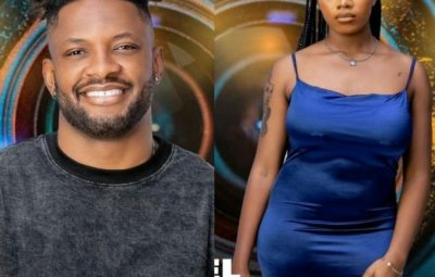 """BBNAIJA!! """"Angel For Everyone"""" See The Moment Cross Carefully Handled Angel's Buttocks And Magnificent Boobs (VIDEO)"""
