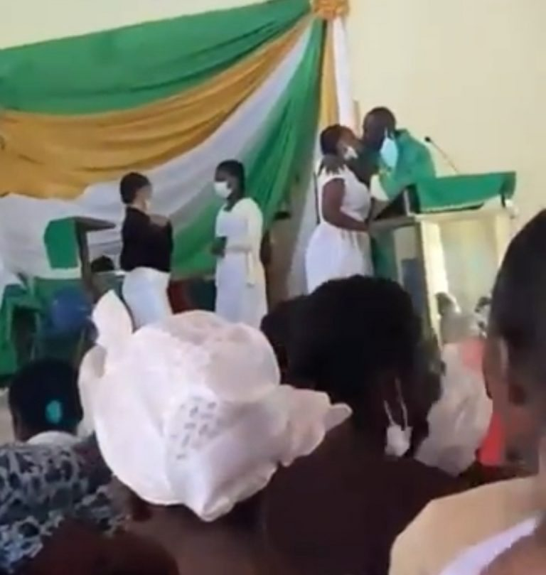 Anglican Church Reacts To Video Showing Priest Kissing Female Students