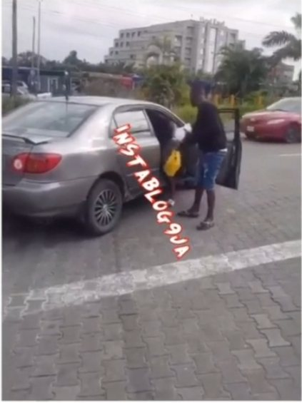 Man Collects Food He Bought For Ladies That Refused To Go Home With Him