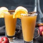 Bourbon Spiked Hot Apple Cider