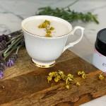 Chamomile and Lavender Oat Milk Latte