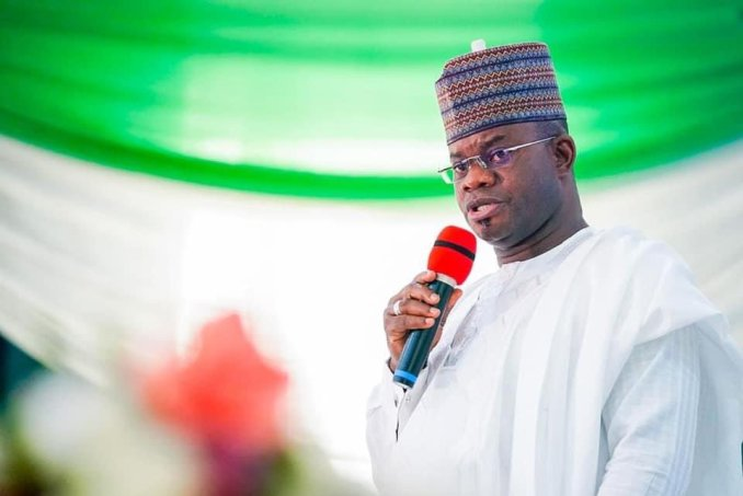 """""""Any protesters seen on 12th June will have themselves to be blamed"""" Kogi State Governor, Yahaya Bello"""