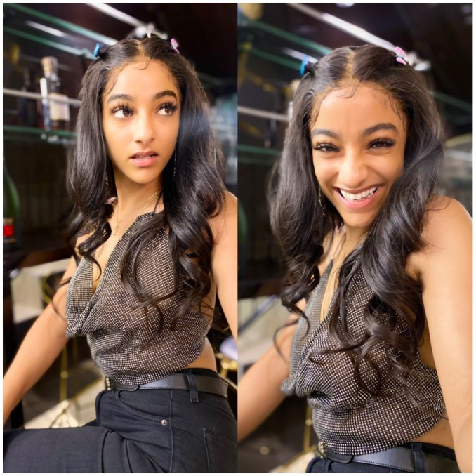 celebrity news: Sophie Rammal who included in Wizkid's 'Holla at your kid' is a goddess