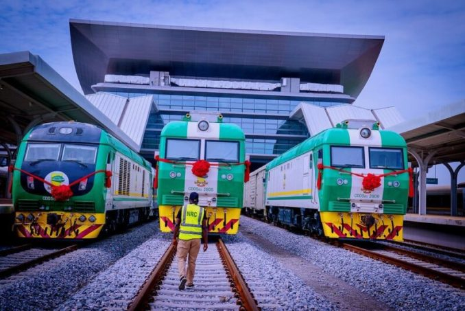 More Photos From Lagos-Ibadan Railway Commissioned By President Buhari On June 10, 2021 – The Station Fine Sha