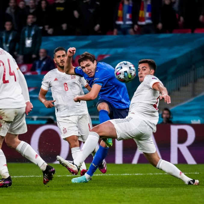 Italy beat Spain in a 4-2 penalty shootout to earn their vicinity in the Euro 2020 Final