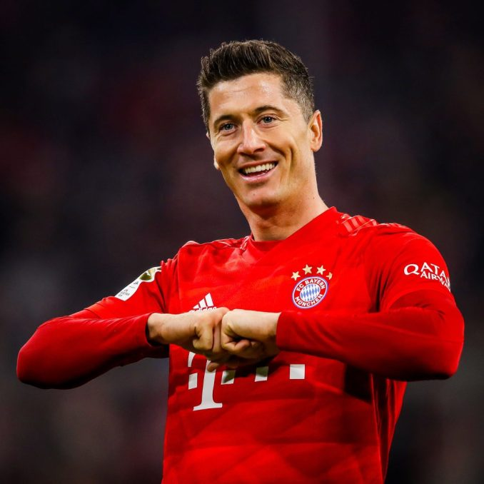 Robert lewandowski has been named Germany's exceptional participant of the 12 months for the 2d consecutive time in two years