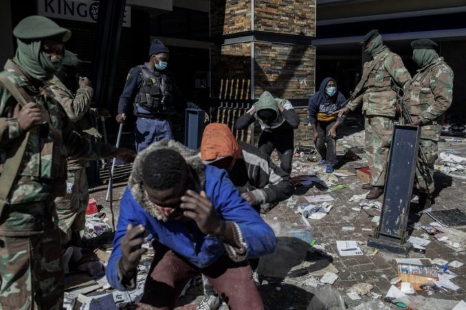 South Africa is on Fire amidst Zouma's arrest as aggrieved residents condones a huge unrest