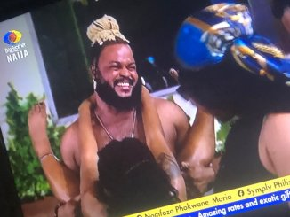 BBnaija: Whitemoney confidently bang the butts of Angel whilst they experience Jacuzzi ultimate night time (Video)