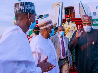 Breaking News: President Buhari Has Come Back  From UK Trip
