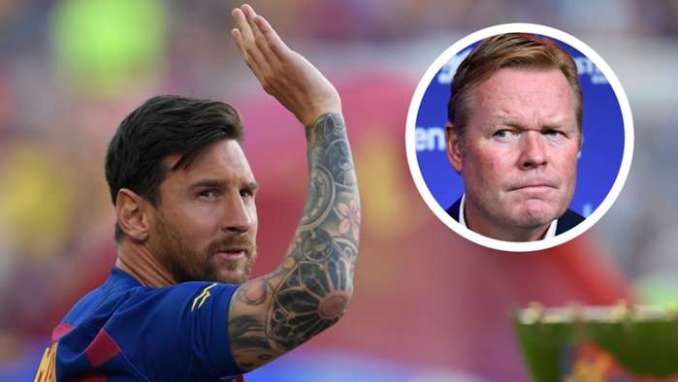 Fati And Coutinho Set a Competition on Messi's Absence - Koeman Assures Barcelona