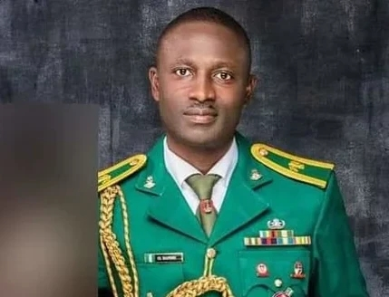 Major who was kidnapped through bandits from the NDA has been observed dead