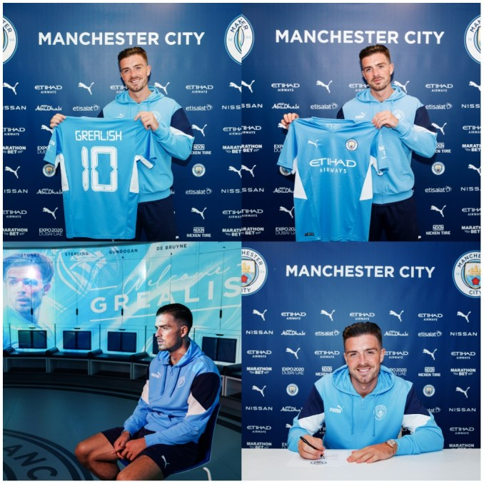 Manchester City completes the signing of Aston Villa maestro