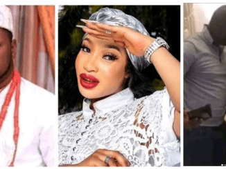 Tonto Dikeh's ex husband Kpokpogri denies the declare that he was once detained by using the DSS