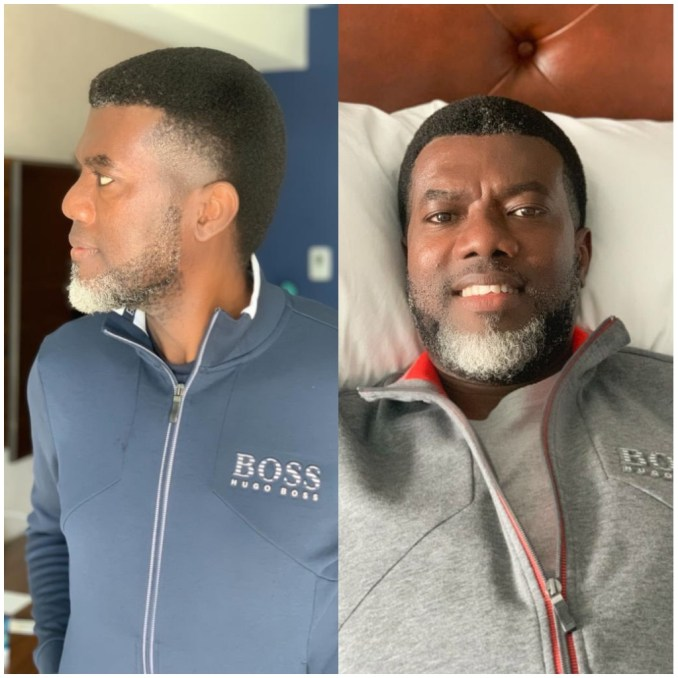"""""""You are the equal yesterday, nowadays and forever"""" reactions as Reno Omokri shares his throwback picture"""