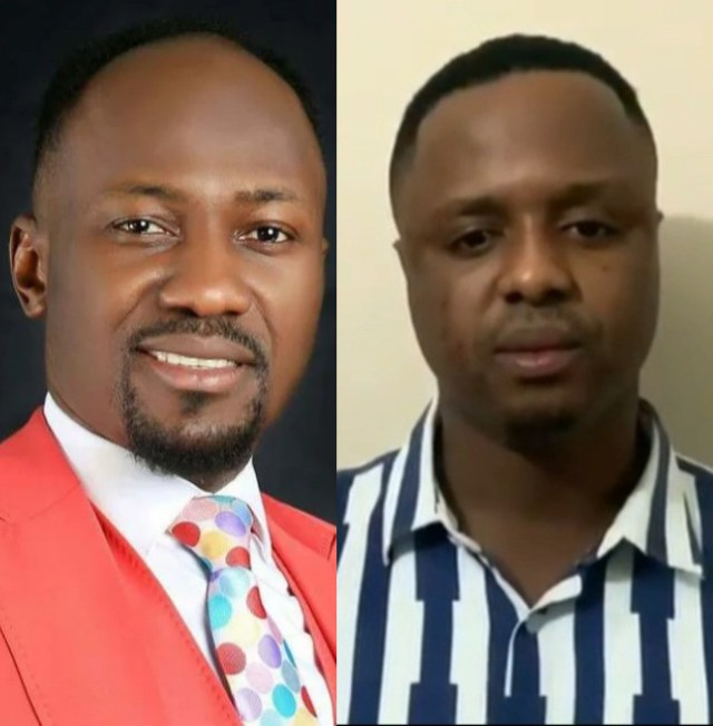 Mike Davids apologizes to Apostle Johnson Suleman after accusing him of having sexual relations with his wife (video)