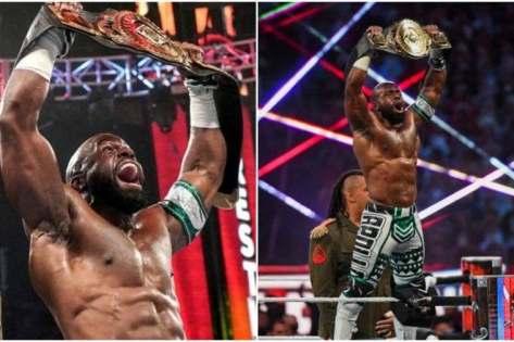Nigerian WWE star Apollo Crews wins WWE Intercontinental Champion