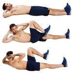 bicycle crunch for abs workout