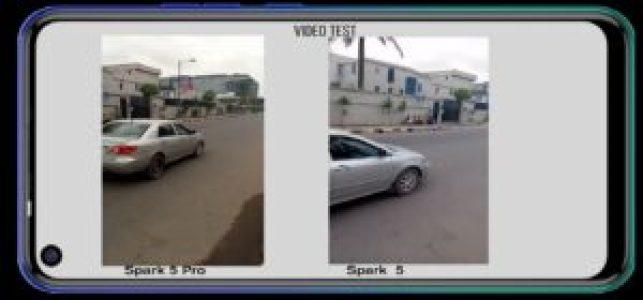 Camera Comparison Between TECNO Spark 5 Pro And Spark 5
