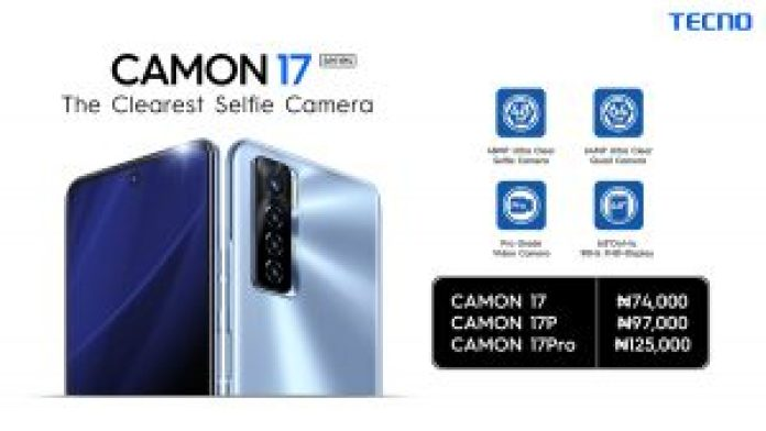 TECNO CAMON 17 MAKES A STUNNING DEBUT WITH A VIBRANT FASHION SHOW