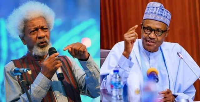 Wole Soyinka Says Buhari is not the one in Charge of The Affairs of the Nation