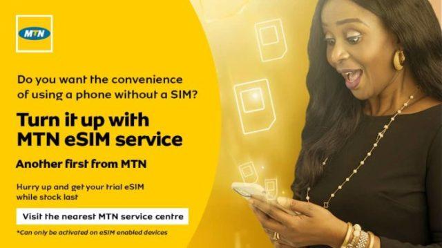 MTN Launches E-SIM In Nigeria