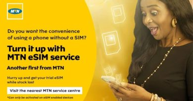 MTN launches E-SIM In Nigeria