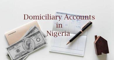Domiciliary account Nigeria