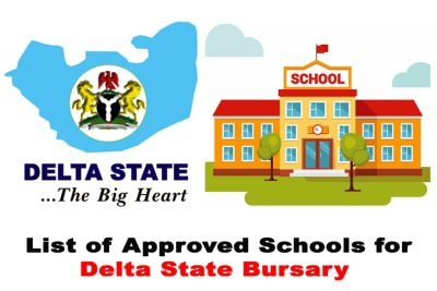 Full List of Approved Schools for Delta State Bursary 2020