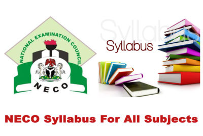 NECO Syllabus PDF Download Link for All Subjects in 2020/2021 SSCE & GCE | DOWNLOAD & CHECK NOW