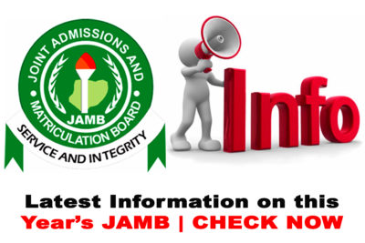 Latest Information on the Upcoming 2021 JAMB CBT Examination | CHECK NOW