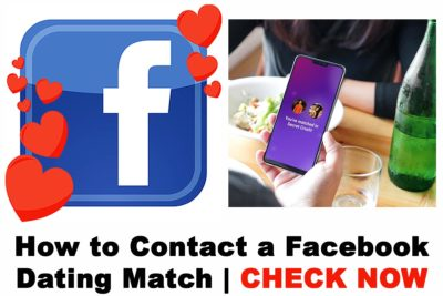 How to Contact a Facebook Dating Match