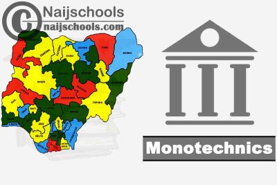 Full List of Accredited State Monotechnics in Nigeria and their Admission Requirements