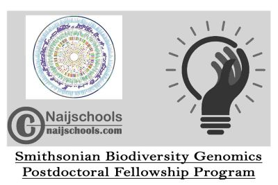 Smithsonian Biodiversity Genomics Postdoctoral Fellowship Program 2020/2021 (Funding Available) | APPLY NOW